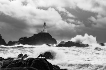 Stormy Weather, La Corbiere, Jersey