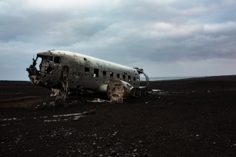 The wreck, Iceland