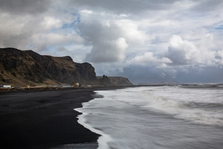 Black Sand Coastline of Vik, Iceland